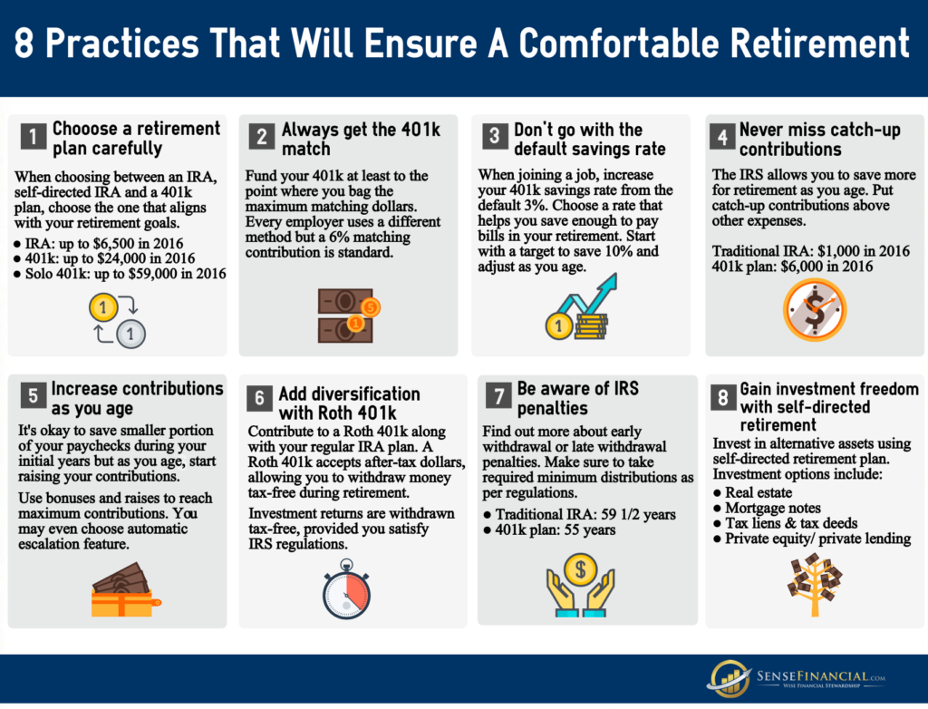 8 retirement tips to boost your retirement savings