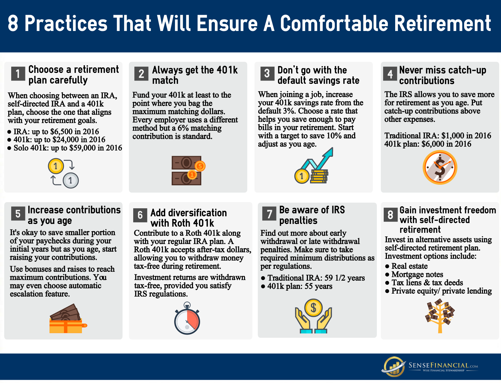 Attractive 8 Retirement Tips To Boost Your Retirement Savings