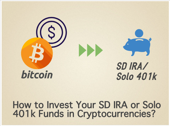Invest in cryptocurrencies with retirement funds